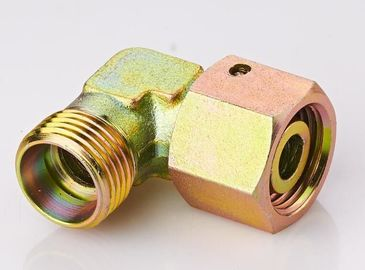 China Elbow DIN Hydraulic Fittings Reducer Tube Adapter With Swivel Nut  2C9 / 2D9 supplier