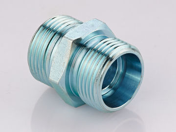 Metric Straight Thread Fittings , Male Bsp Threaded Pipe Fittings 1CB / 1DB